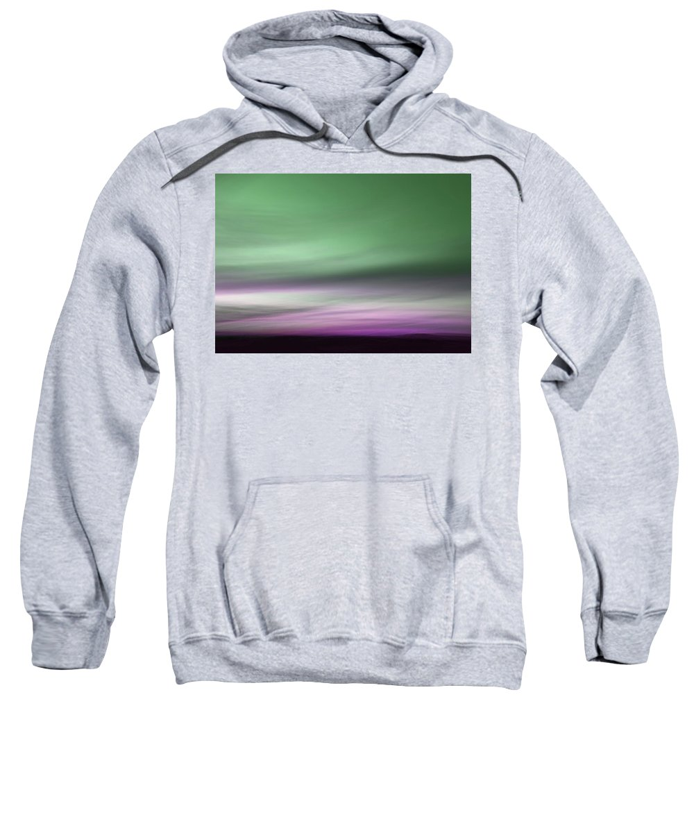 Changing Sweatshirt featuring the photograph Northern Lights 1 by Marilyn Hunt