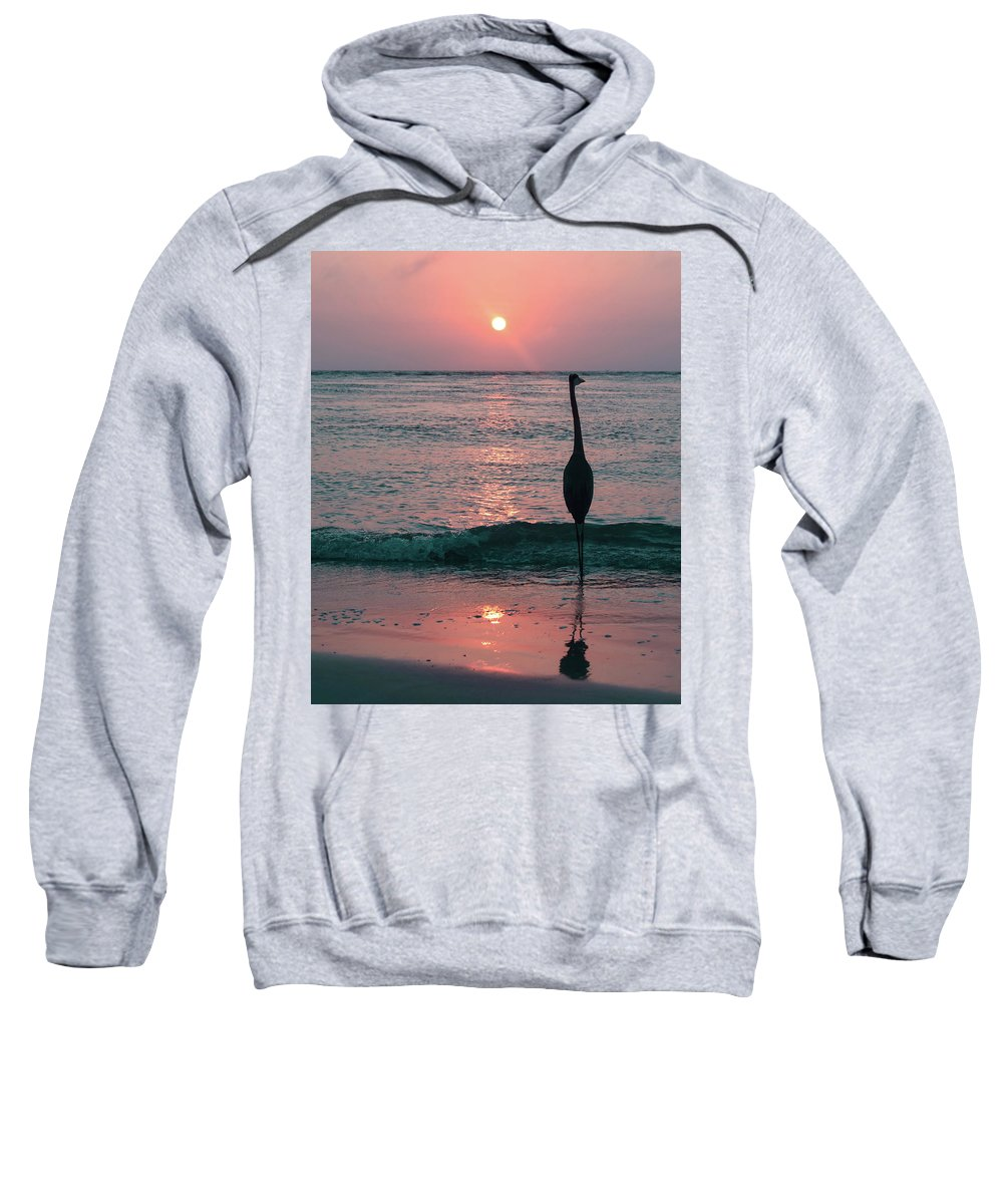 Beach Sweatshirt featuring the photograph Old Fashioned by Ashleena Valene Taylor