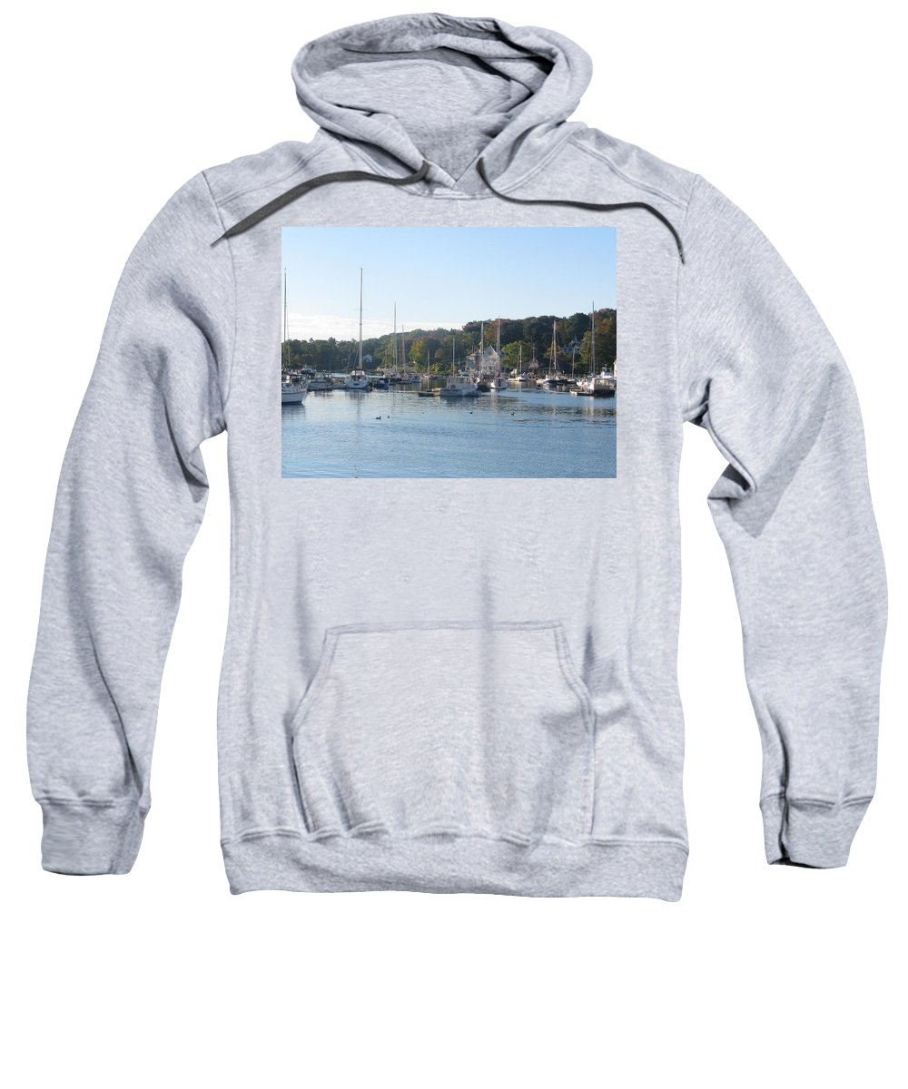 Sail Boat Sweatshirt featuring the photograph Photo #90 by Suzanne Buckland