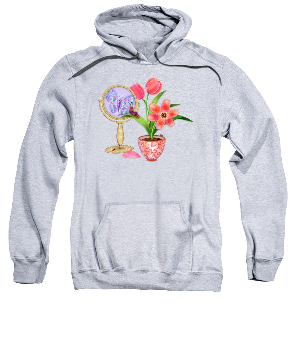Still Life Mixed Media Hooded Sweatshirts T-Shirts