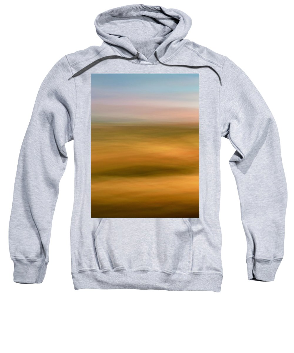 Soft Sweatshirt featuring the photograph Soft Evenings by Marilyn Hunt
