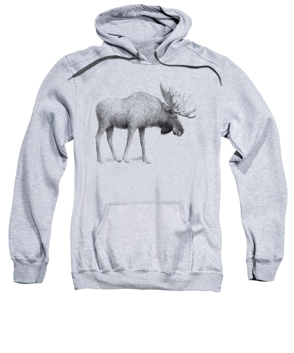 Winter Drawings Hooded Sweatshirts T-Shirts