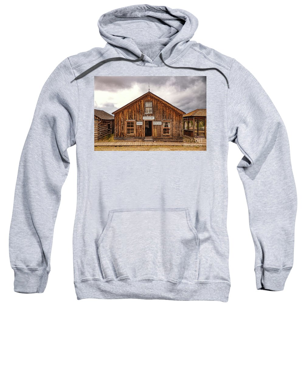 Woodworking Sweatshirt featuring the photograph Woodworking by Lynn Sprowl