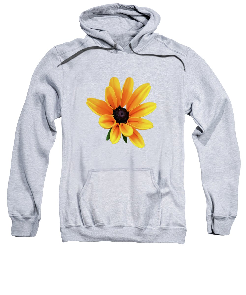 Yellow Flowers Sweatshirt featuring the photograph Yellow Flower Black Eyed Susan by Christina Rollo