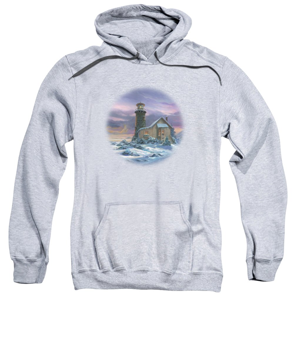 New England Paintings Hooded Sweatshirts T-Shirts