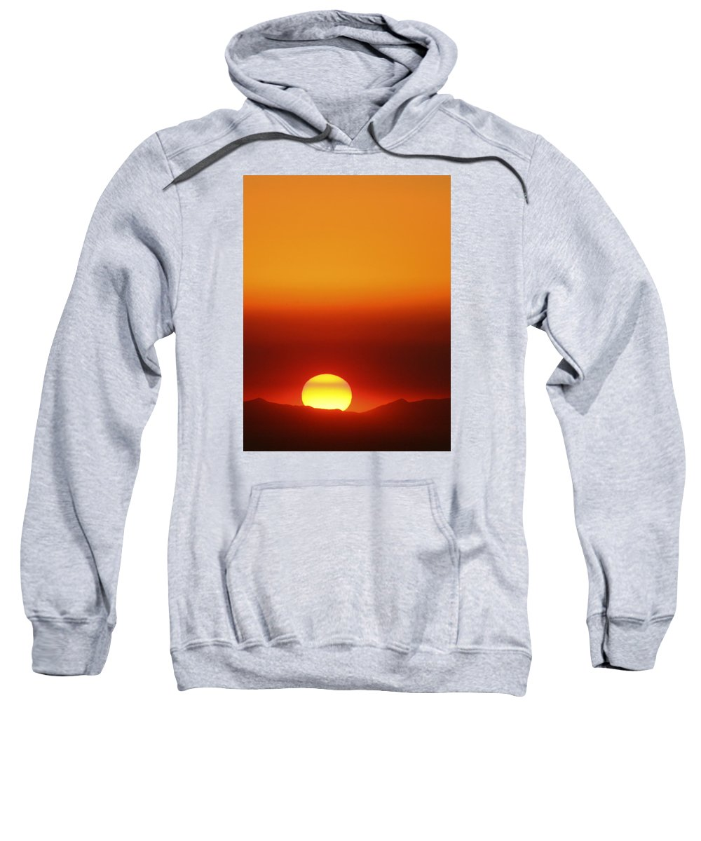 Catalina Sunset Sweatshirt featuring the photograph Catalina Sun by Andre Aleksis