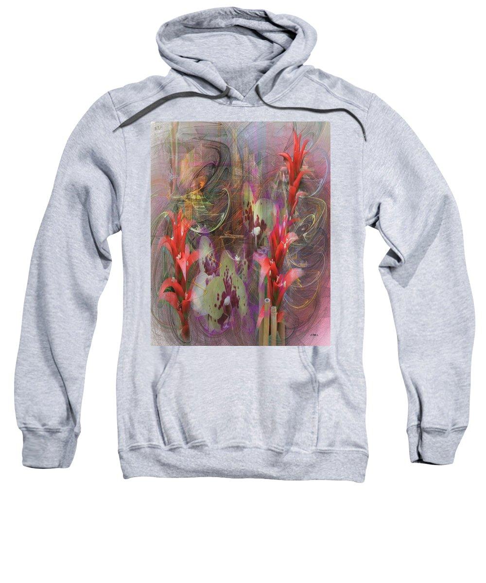 Chosen Ones Sweatshirt featuring the digital art Chosen Ones by John Robert Beck