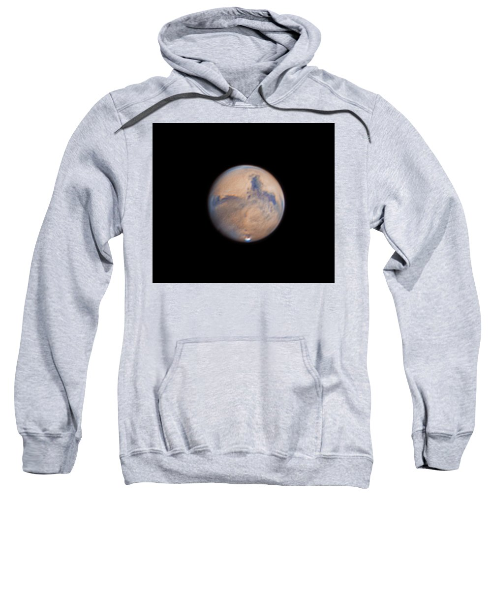 Mars Sweatshirt featuring the photograph Mars from 31st October 2020 by Prabhu Astrophotography