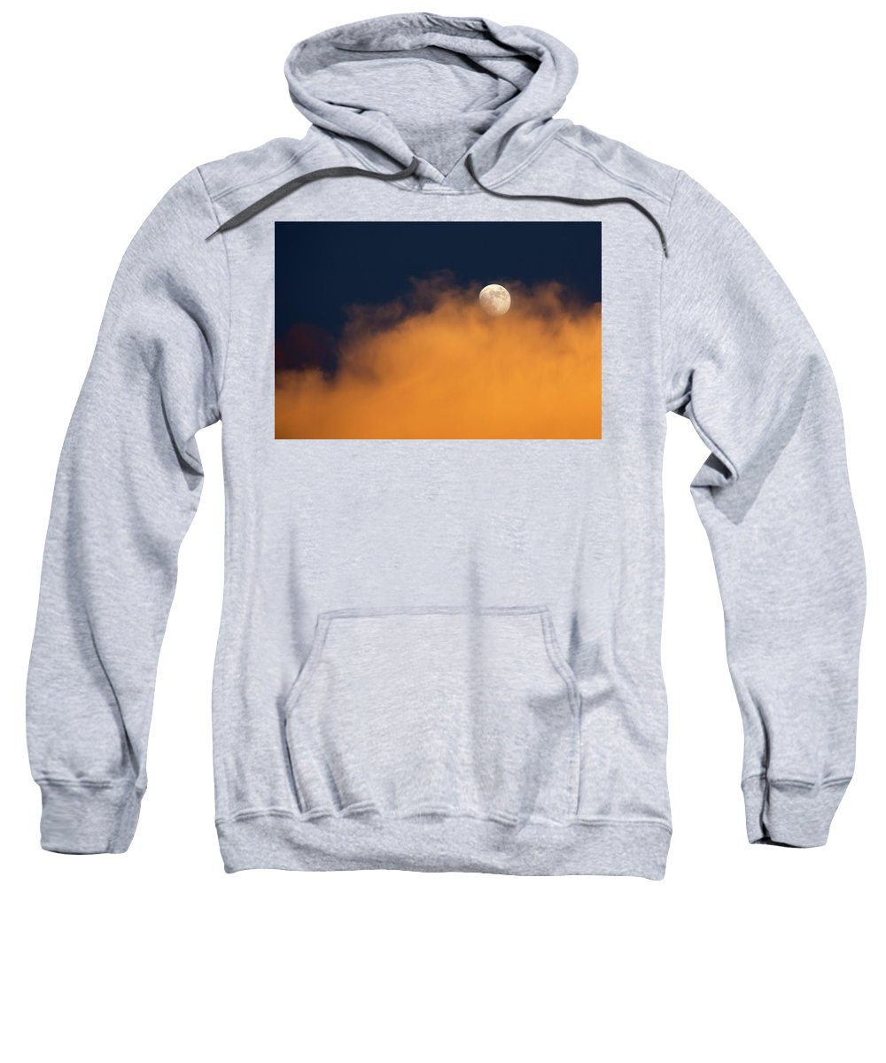 Usa Sweatshirt featuring the photograph Monsoon Moon by Cathy Franklin