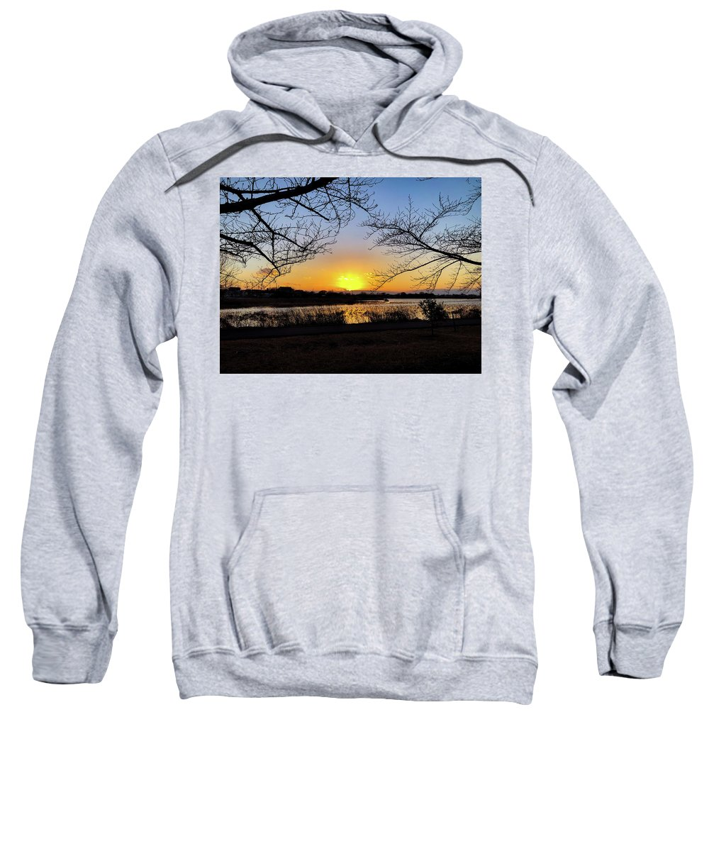 Sunset Sweatshirt featuring the photograph Tatebayashi Sunset by Kiyoto Matsumoto