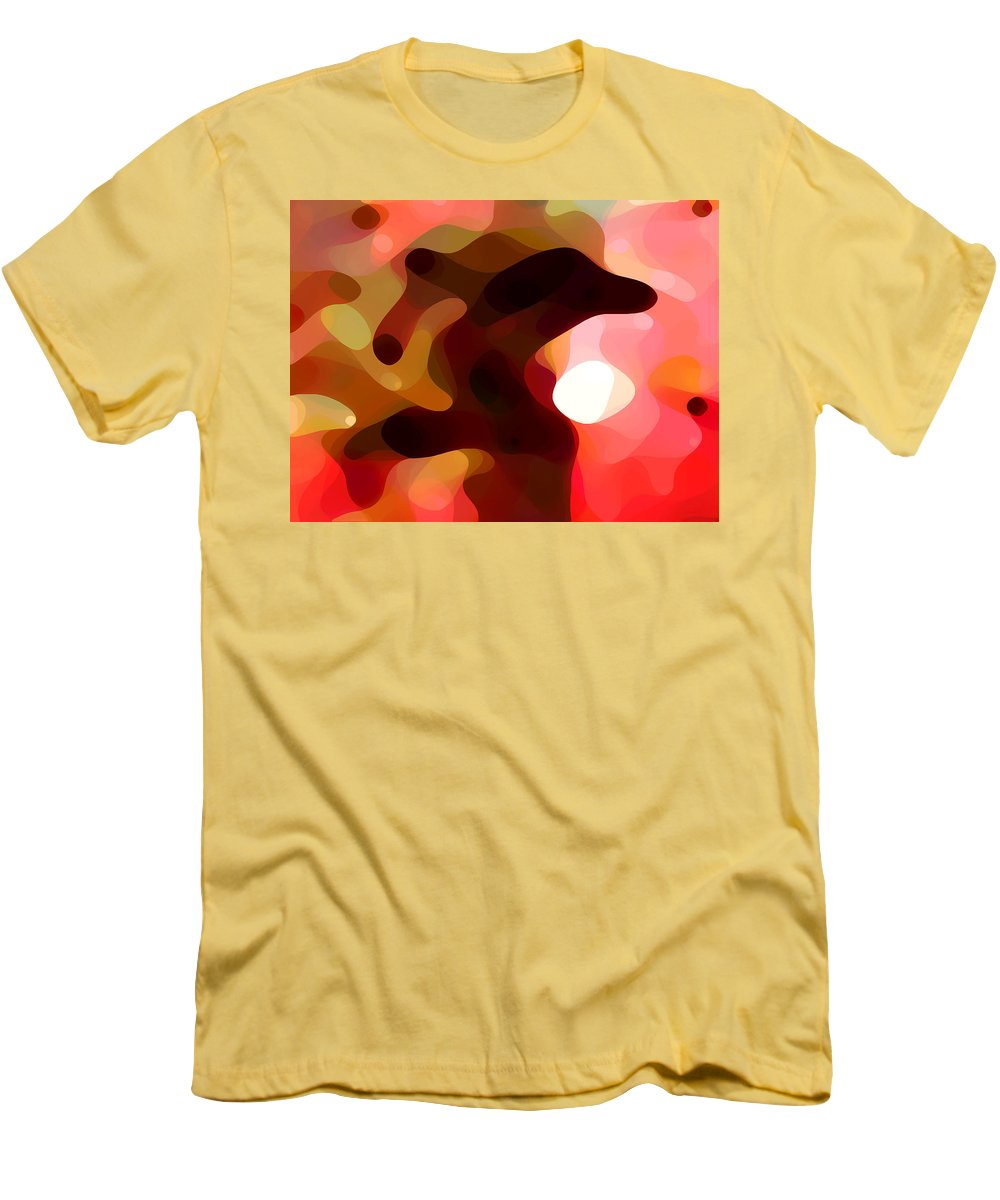 Bold Men's T-Shirt (Athletic Fit) featuring the painting Las Tunas by Amy Vangsgard