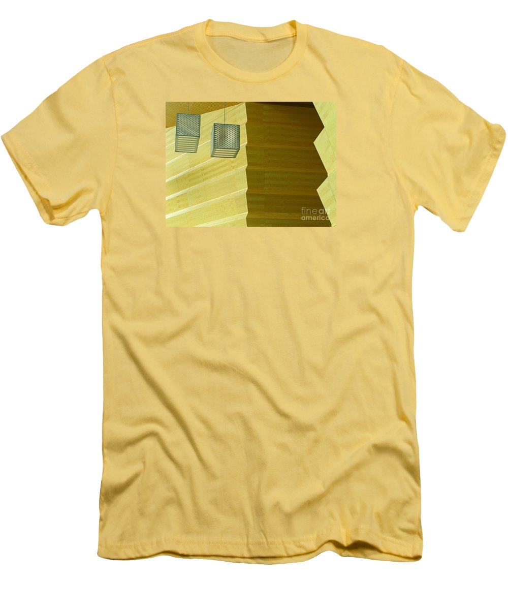 Zig-zag Men's T-Shirt (Athletic Fit) featuring the photograph Zig-zag by Ann Horn