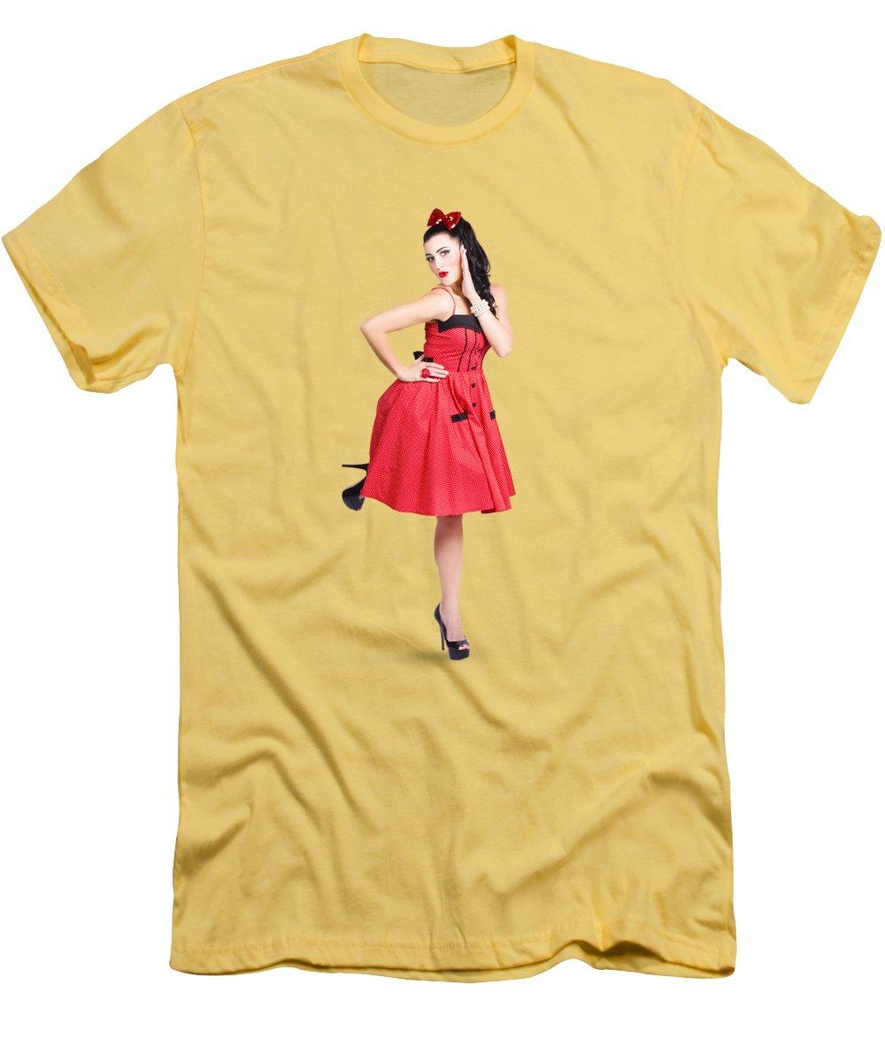 Polka Dot Dress T-Shirts   Fine Art America