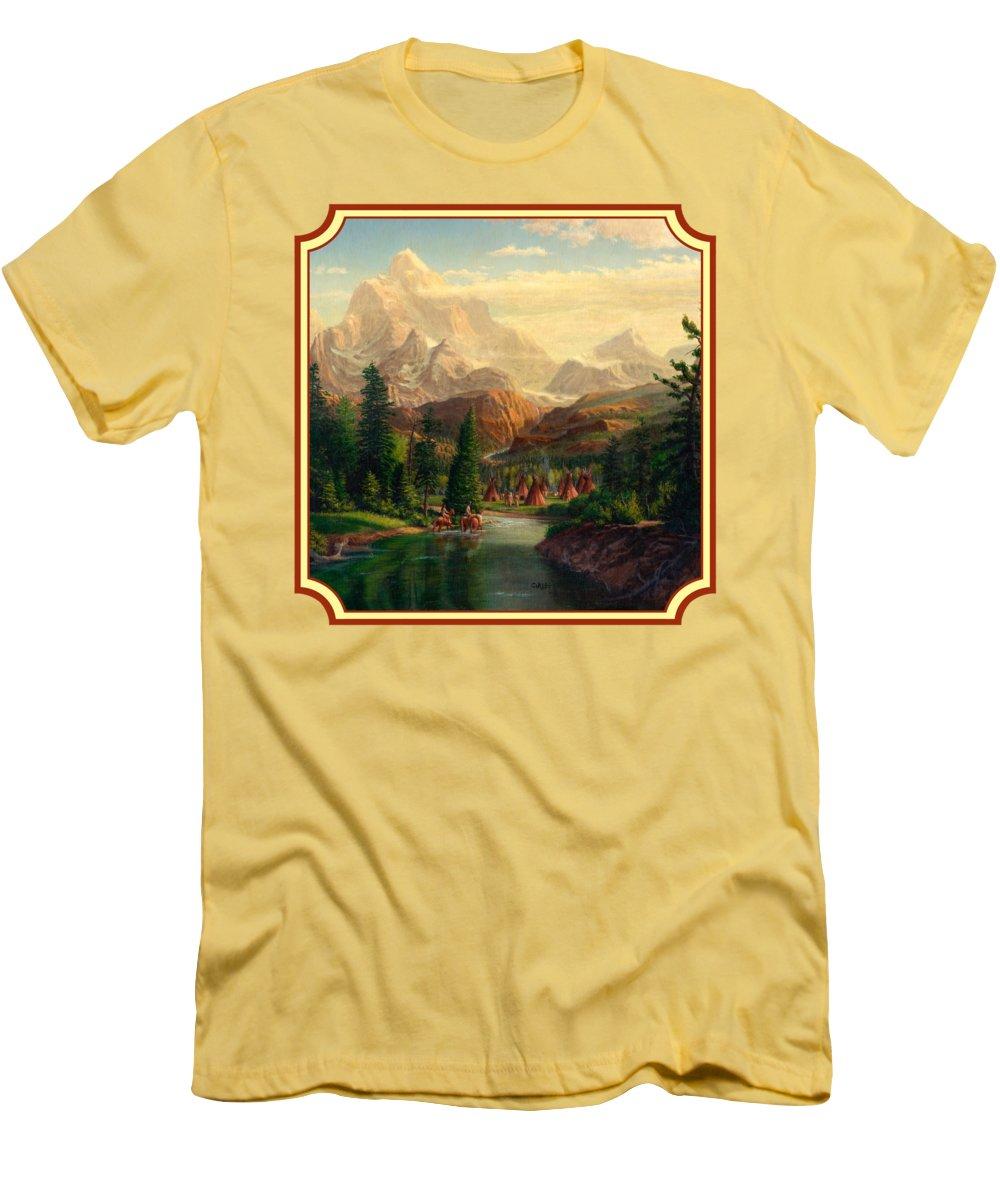 Teton Slim Fit T-Shirts