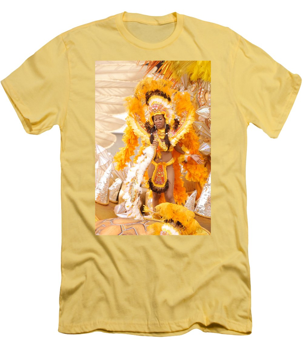 Brazil Men's T-Shirt (Athletic Fit) featuring the photograph Lets Samba by Sebastian Musial