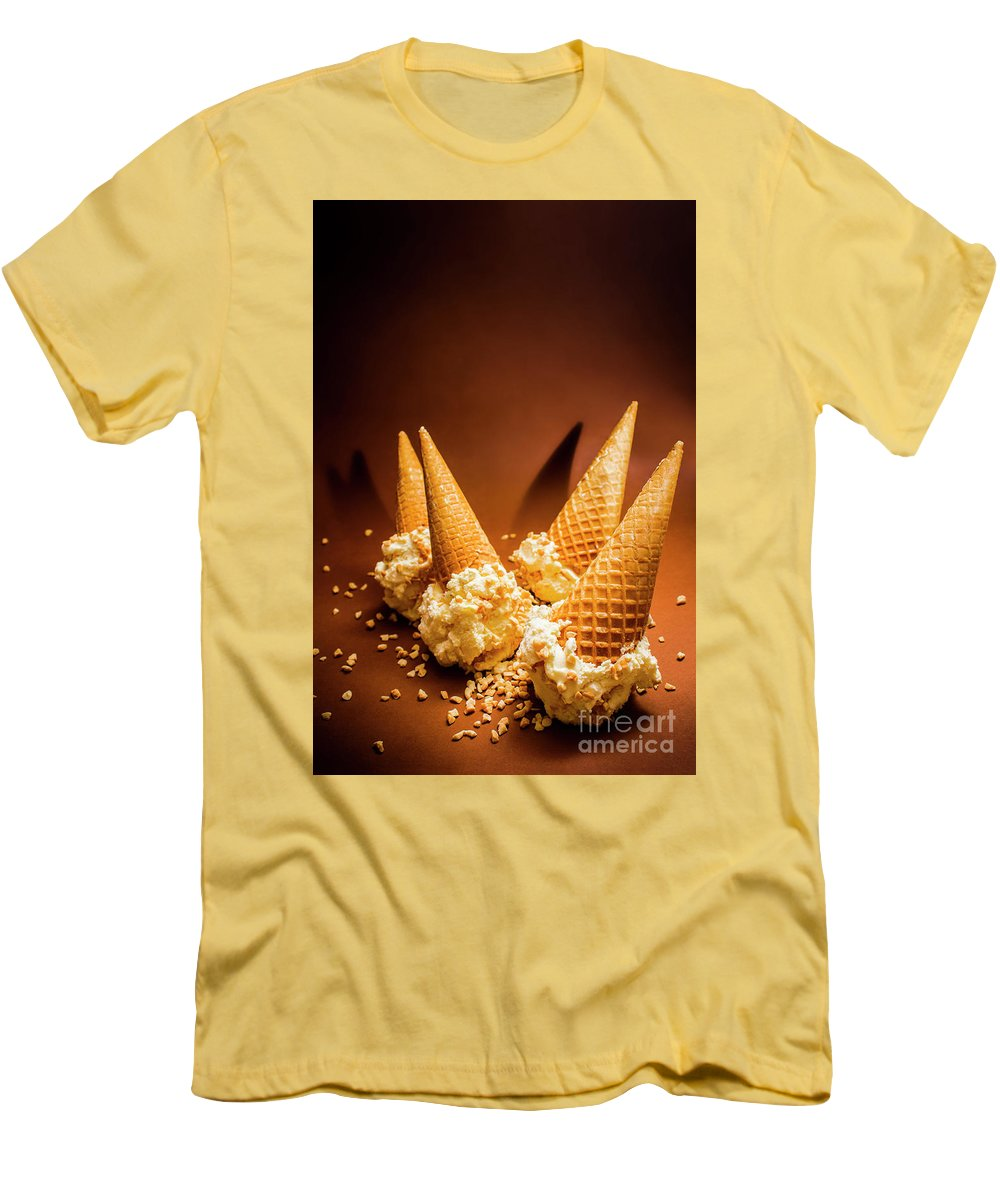 Nuts Over Ice-cream. Birthday Party Background T-Shirt for Sale by ...