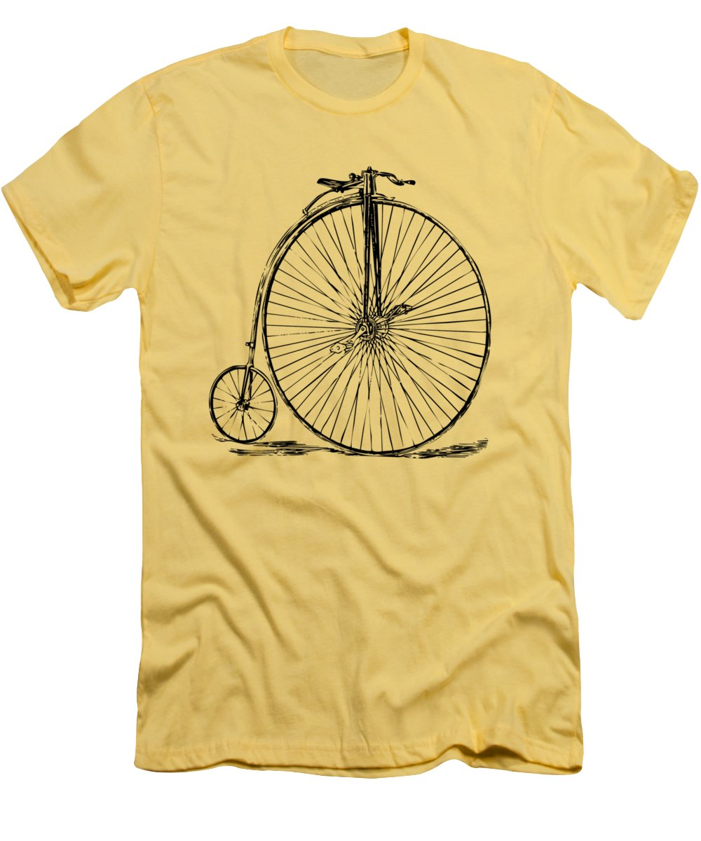 Bicycle Slim Fit T-Shirts