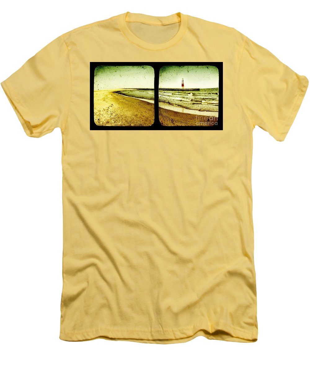 Ttv Men's T-Shirt (Athletic Fit) featuring the photograph Reaching For Your Hand by Dana DiPasquale
