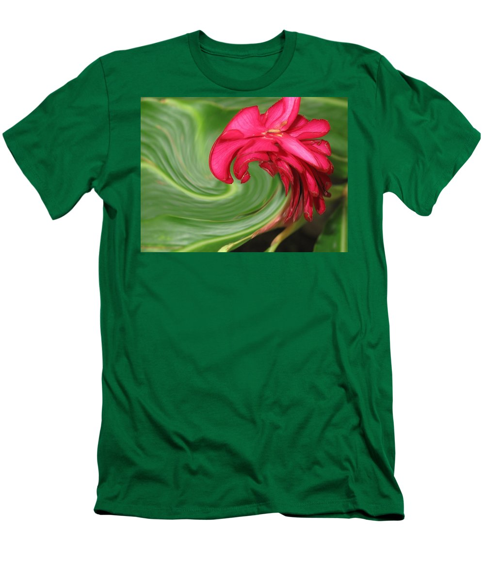 Flower Men's T-Shirt (Athletic Fit) featuring the photograph Come To Me by Ian MacDonald