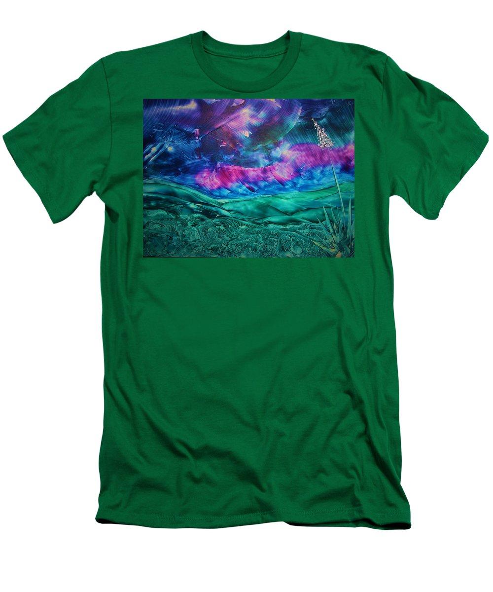 Desert Men's T-Shirt (Athletic Fit) featuring the print Sierra Vista by Melinda Etzold