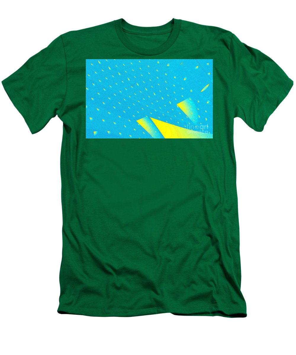 Clay Men's T-Shirt (Athletic Fit) featuring the digital art The Illusion by Clayton Bruster