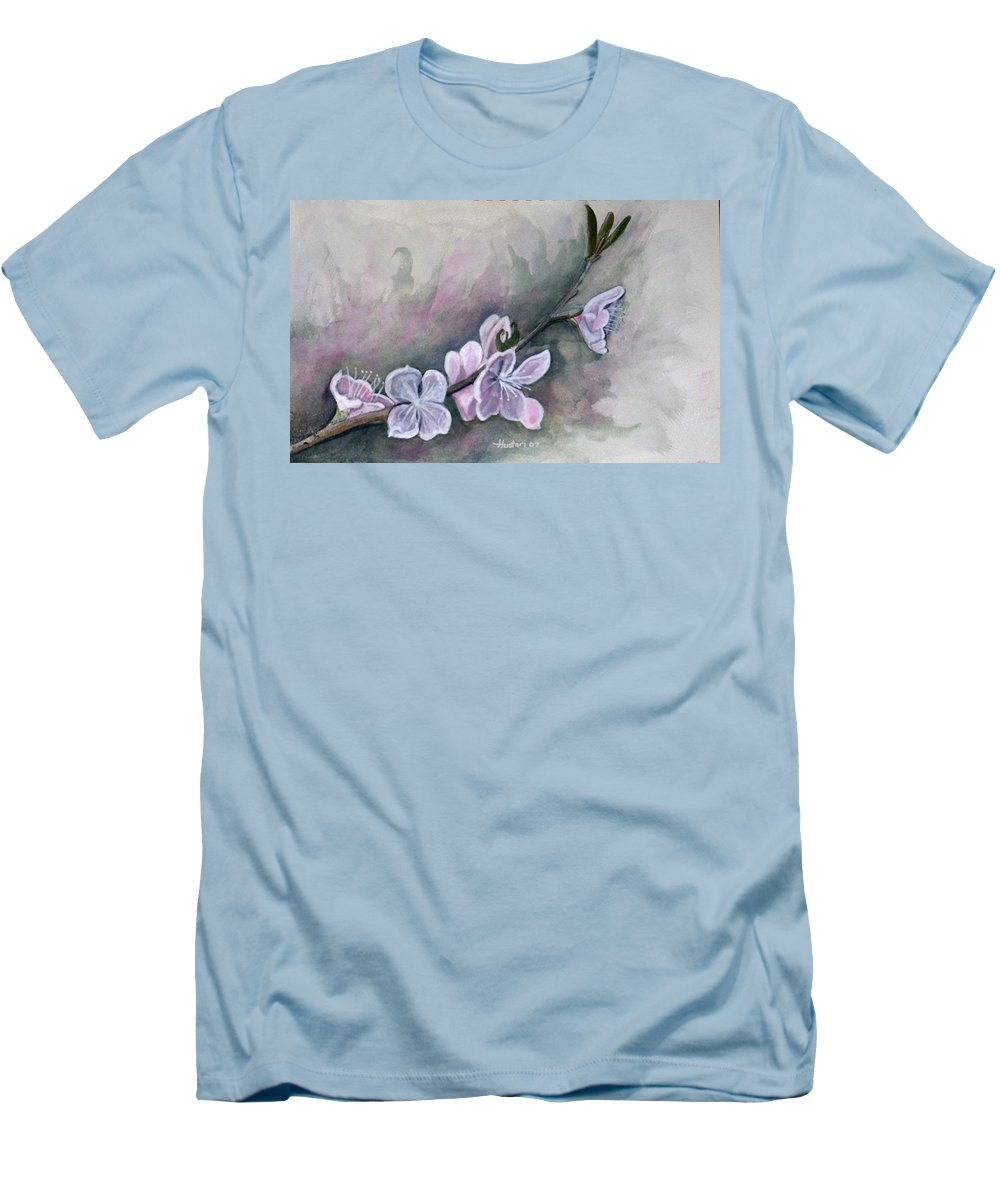 Rick Huotari Men's T-Shirt (Athletic Fit) featuring the painting Spring Splendor by Rick Huotari