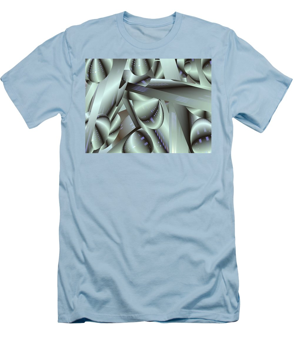 Japan-a-mation Men's T-Shirt (Athletic Fit) featuring the painting Awe Kew Nice by Scott Piers