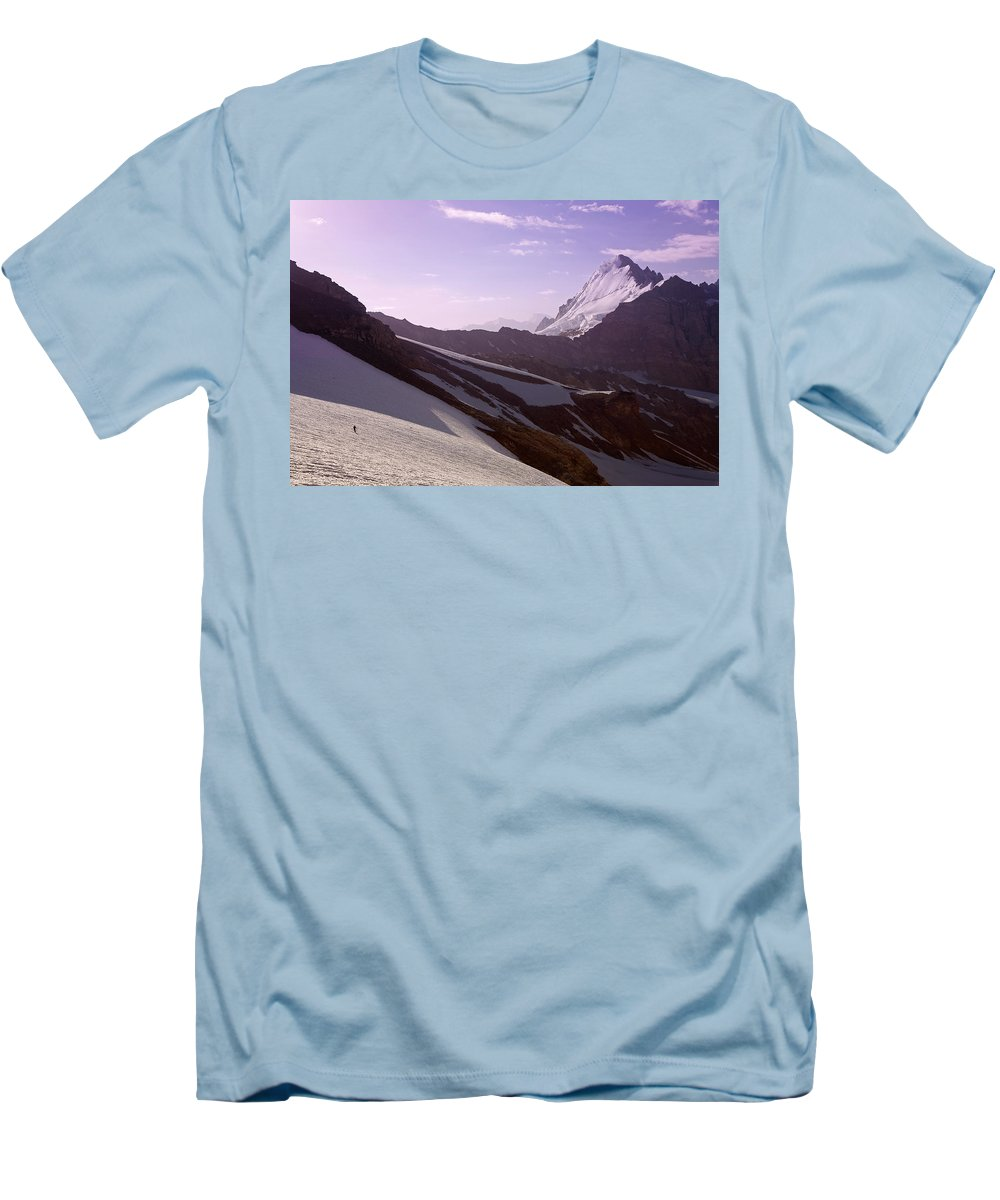 Beautiful Men's T-Shirt (Athletic Fit) featuring the photograph Pamir by Konstantin Dikovsky