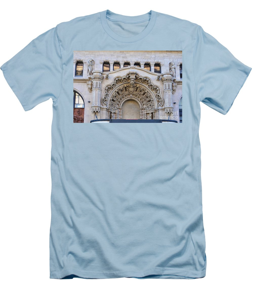 Clay Men's T-Shirt (Athletic Fit) featuring the photograph Street Photography by Clayton Bruster