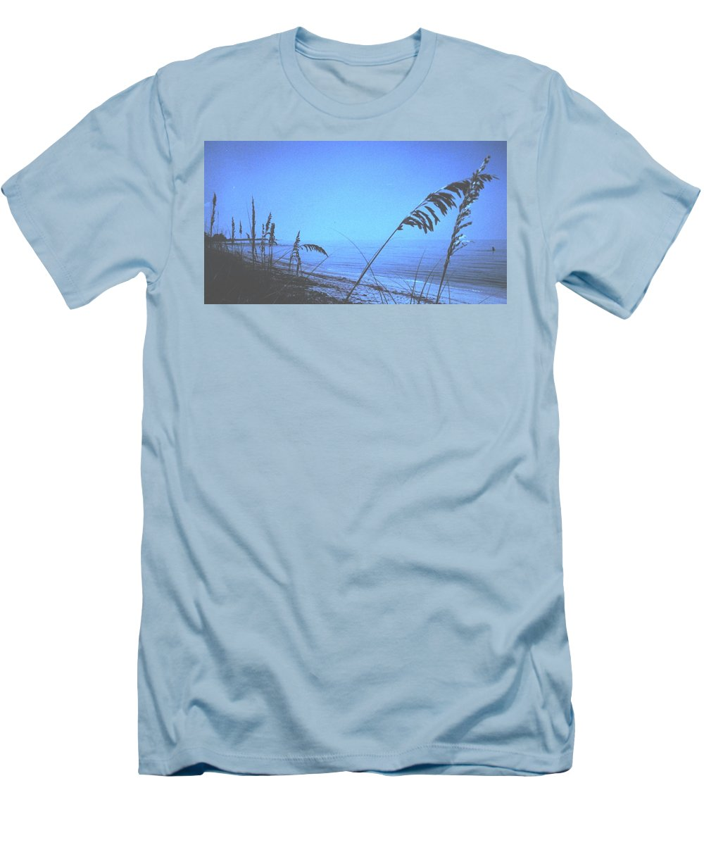 Men's T-Shirt (Athletic Fit) featuring the photograph Bahama Blue by Ian MacDonald