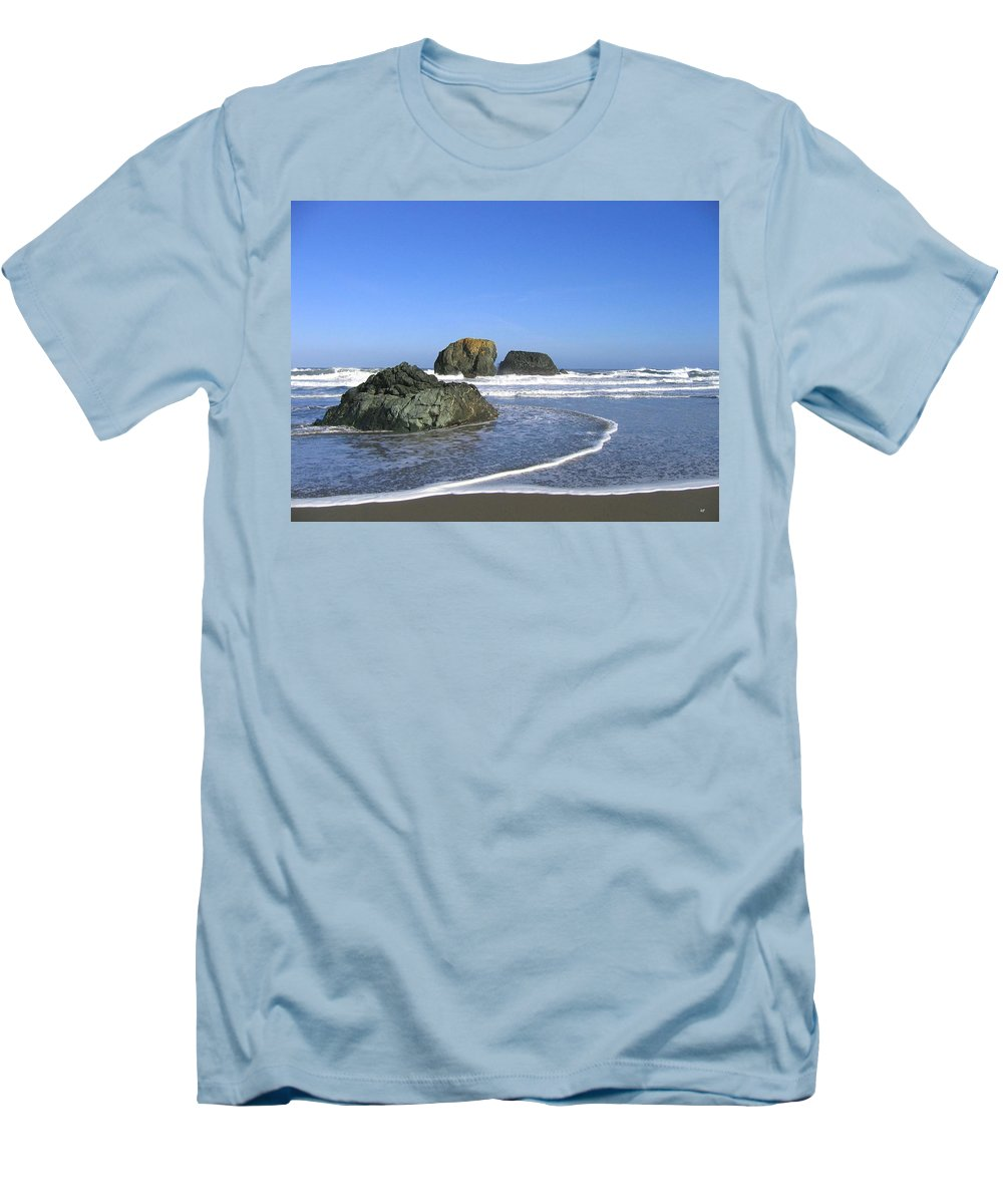 Bandon 5 Men's T-Shirt (Athletic Fit) featuring the photograph Bandon 5 by Will Borden