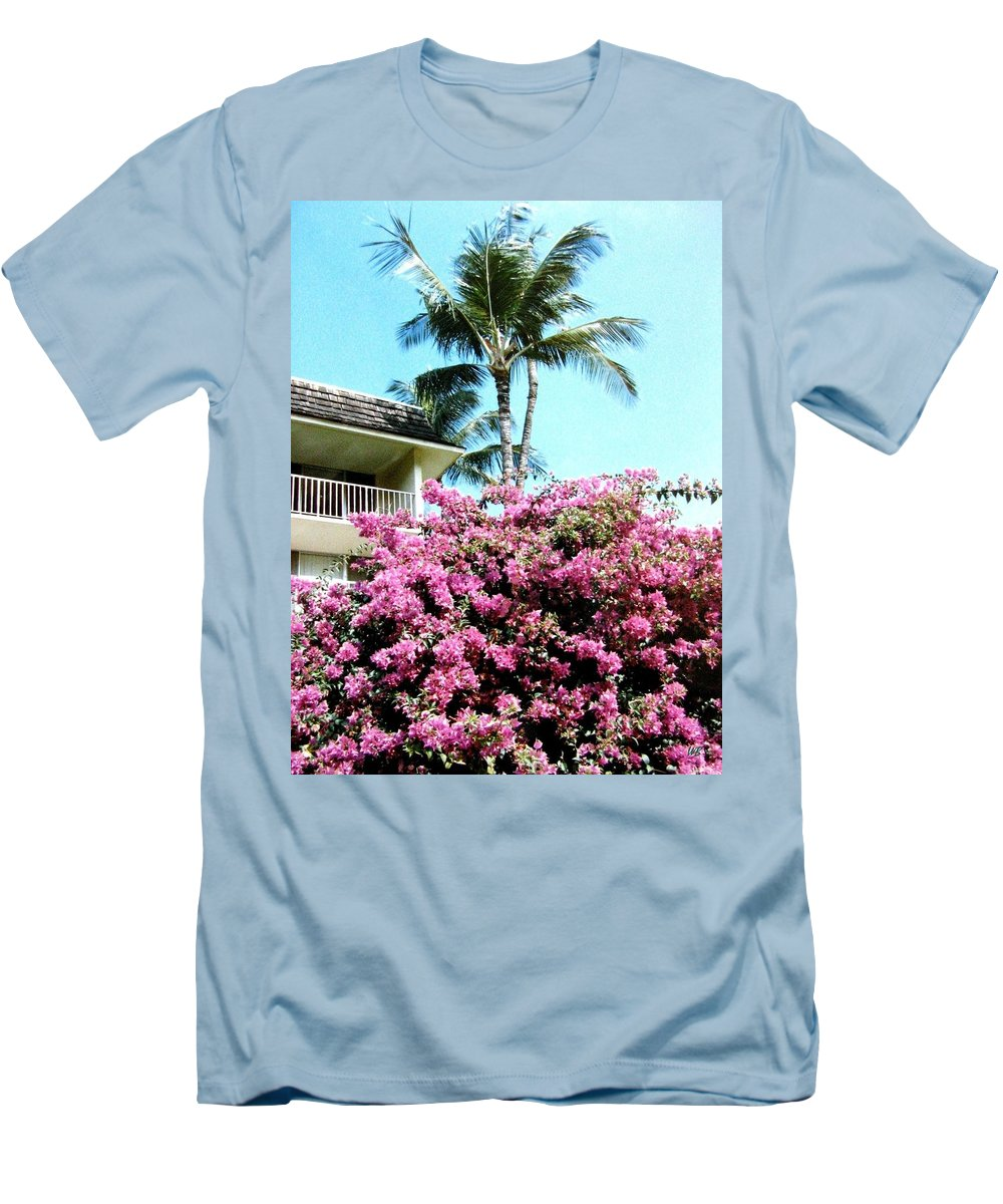 1986 Men's T-Shirt (Athletic Fit) featuring the photograph Bougainvillea by Will Borden