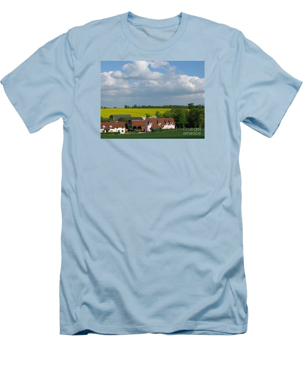 Cloud Men's T-Shirt (Athletic Fit) featuring the photograph Cloud Cover by Ann Horn