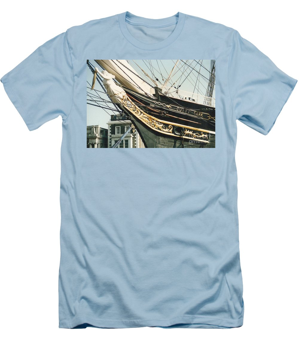 Ship Men's T-Shirt (Athletic Fit) featuring the photograph Cutty Sark by Mary Rogers