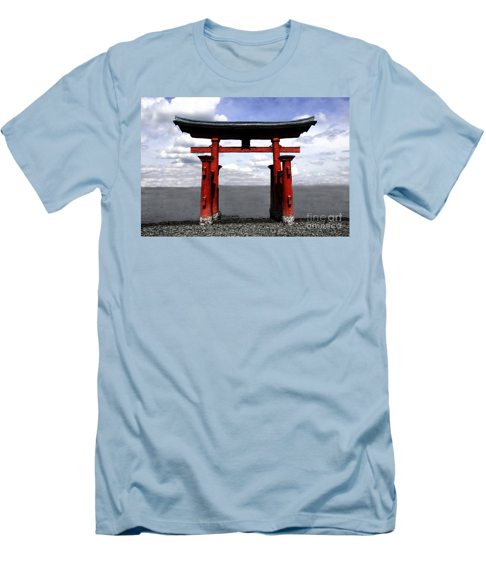 Japan Men's T-Shirt (Athletic Fit) featuring the photograph Dreaming In Japan by David Lee Thompson