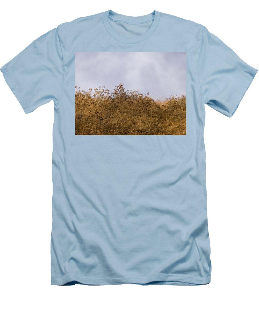 Landscape Men's T-Shirt (Athletic Fit) featuring the photograph Fairmont Ridge by Karen W Meyer