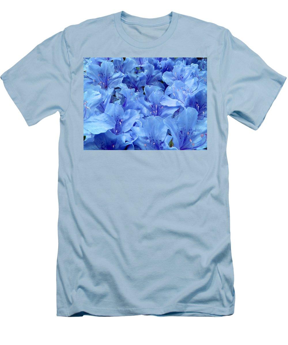 Azalea Men's T-Shirt (Athletic Fit) featuring the photograph Fantasia Azalea by Daniel Csoka