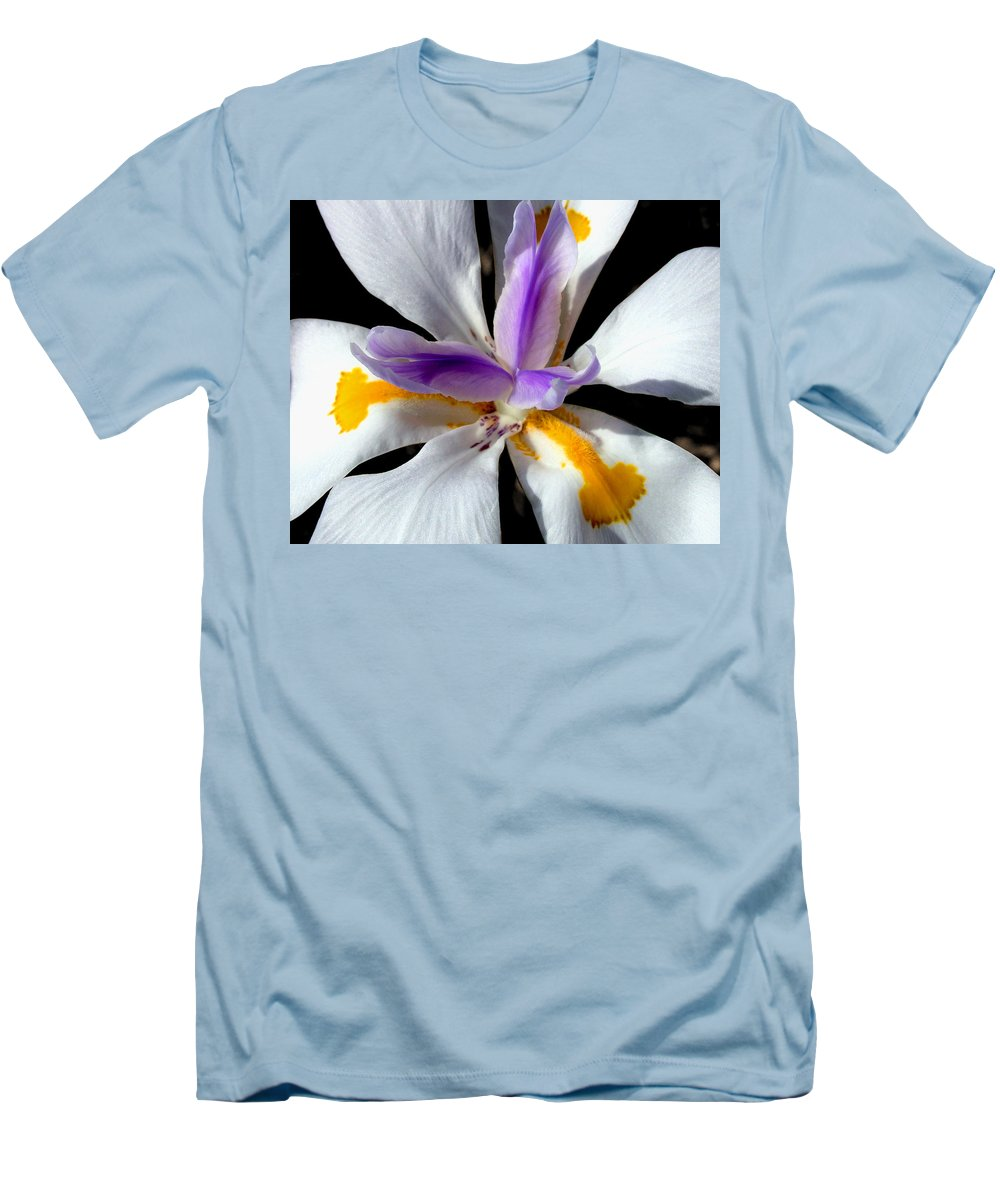 Flowers Men's T-Shirt (Athletic Fit) featuring the photograph Flower by Anthony Jones