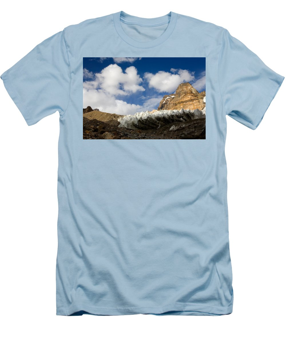 Beautiful Men's T-Shirt (Athletic Fit) featuring the photograph In The Sky And On The Earth by Konstantin Dikovsky