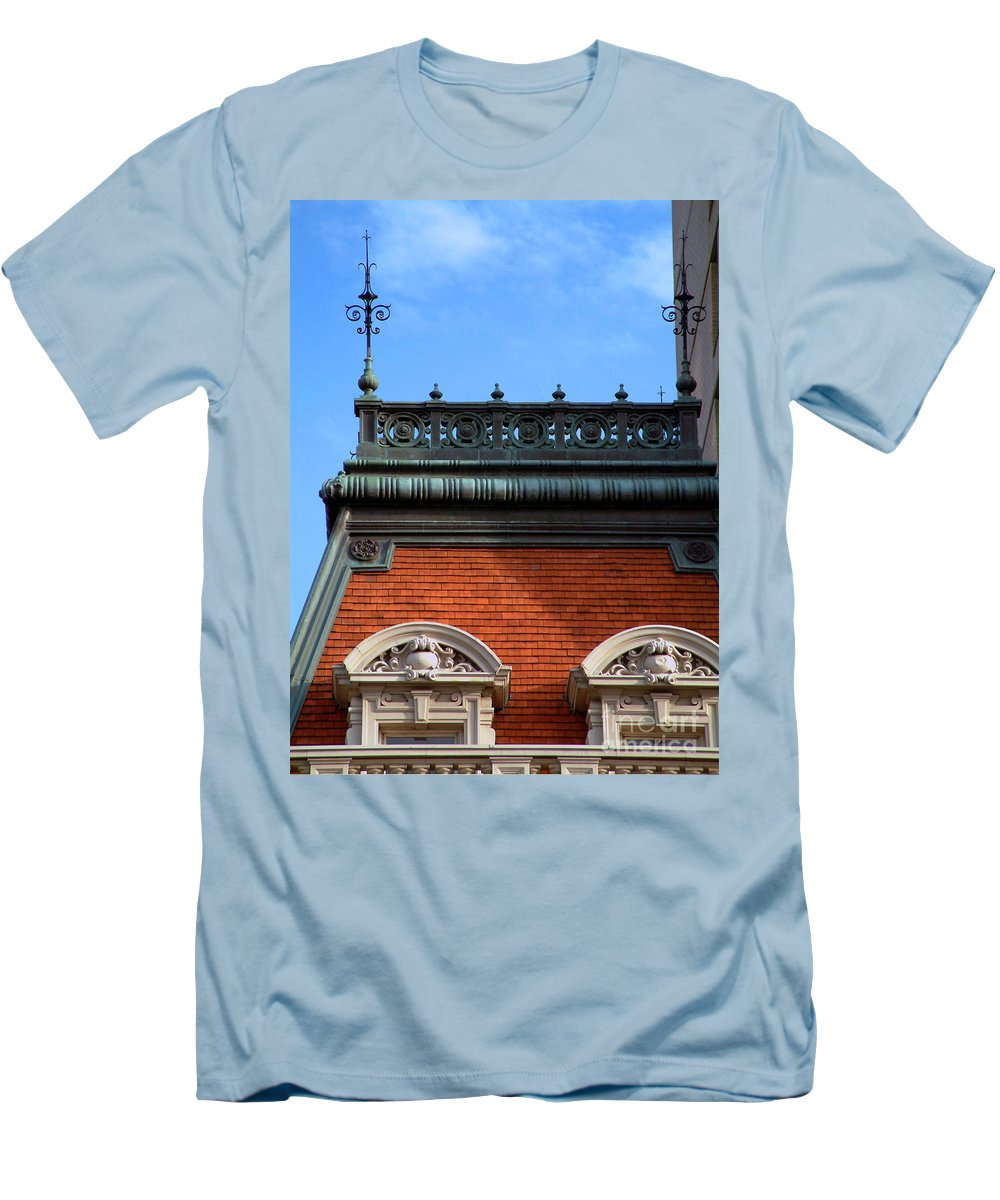 Apartment Men's T-Shirt (Athletic Fit) featuring the photograph On A Clear Day by RC DeWinter