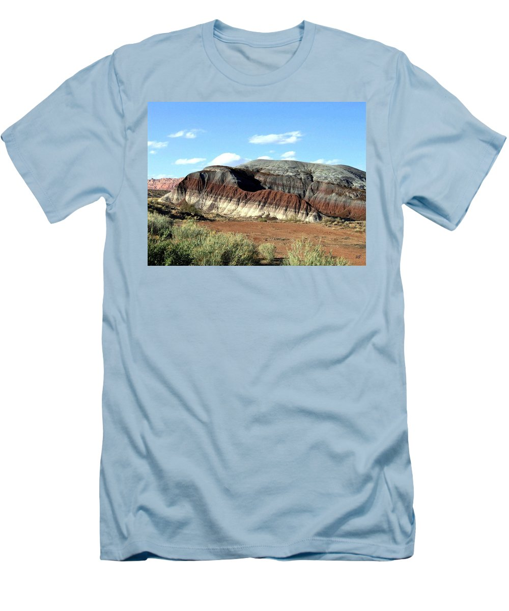 Arizona Men's T-Shirt (Athletic Fit) featuring the photograph Painted Desert by Will Borden