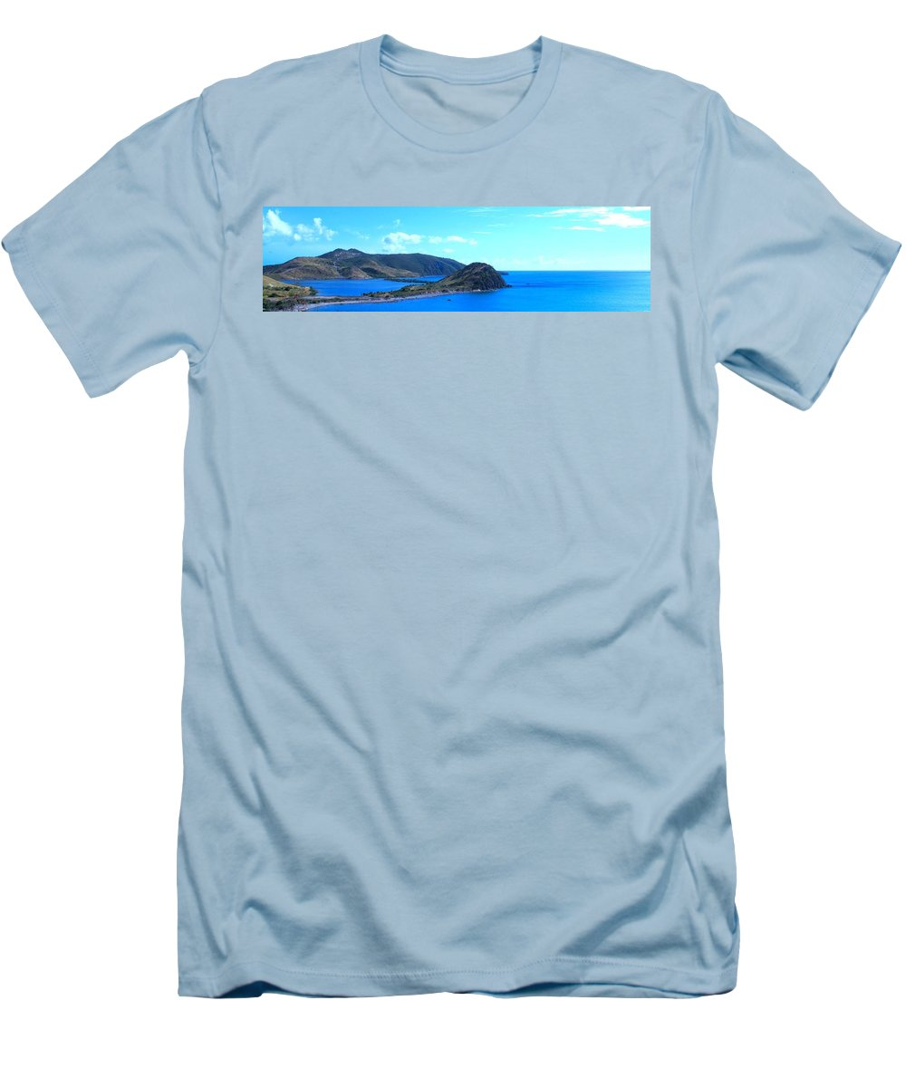 St Kitts Men's T-Shirt (Athletic Fit) featuring the photograph Panhandle by Ian MacDonald