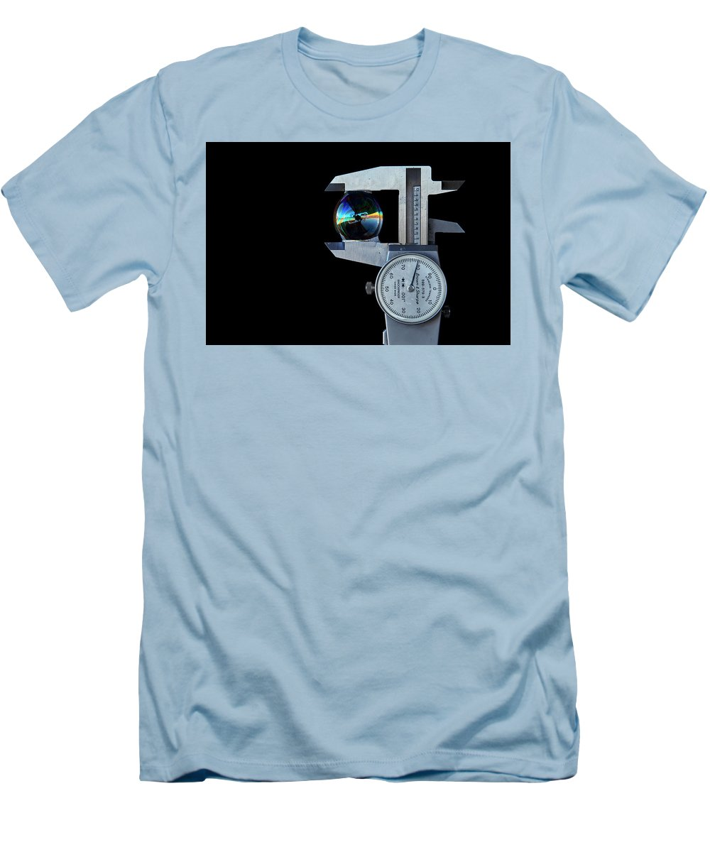 Bubble Men's T-Shirt (Athletic Fit) featuring the photograph Precision Only A Machinist Can Appreciate. by David Hayden
