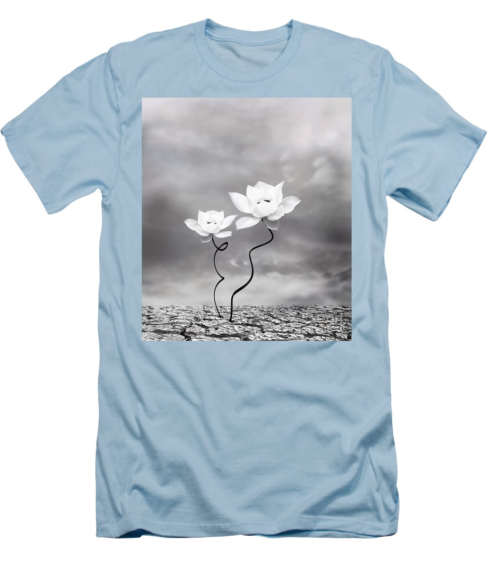 Surreal Men's T-Shirt (Athletic Fit) featuring the photograph Prevail by Jacky Gerritsen