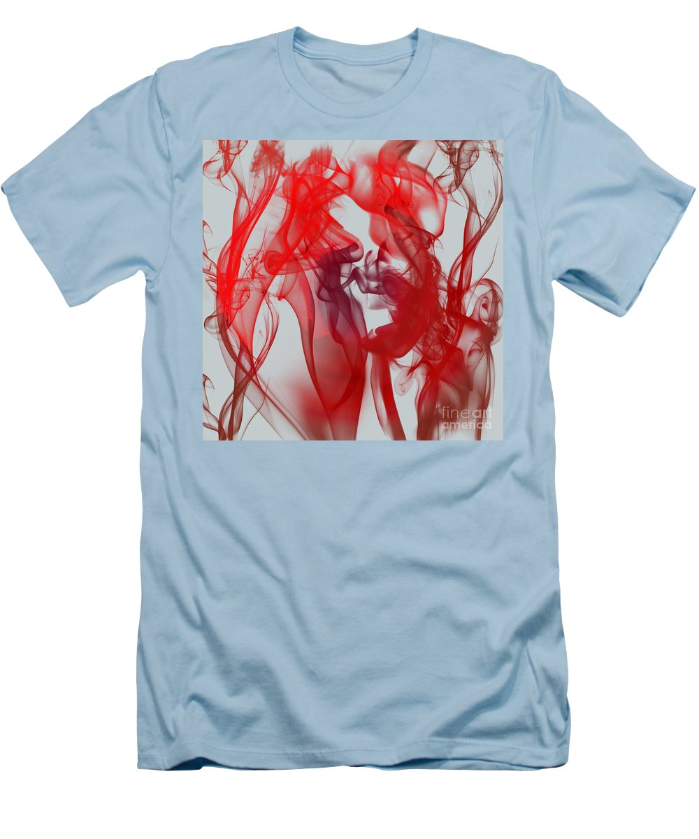 Clay Men's T-Shirt (Athletic Fit) featuring the digital art Red Alert by Clayton Bruster