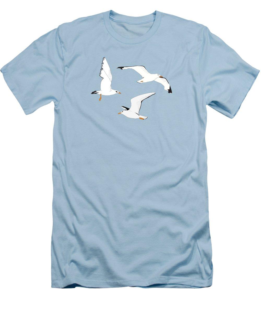 Seagull Slim Fit T-Shirts