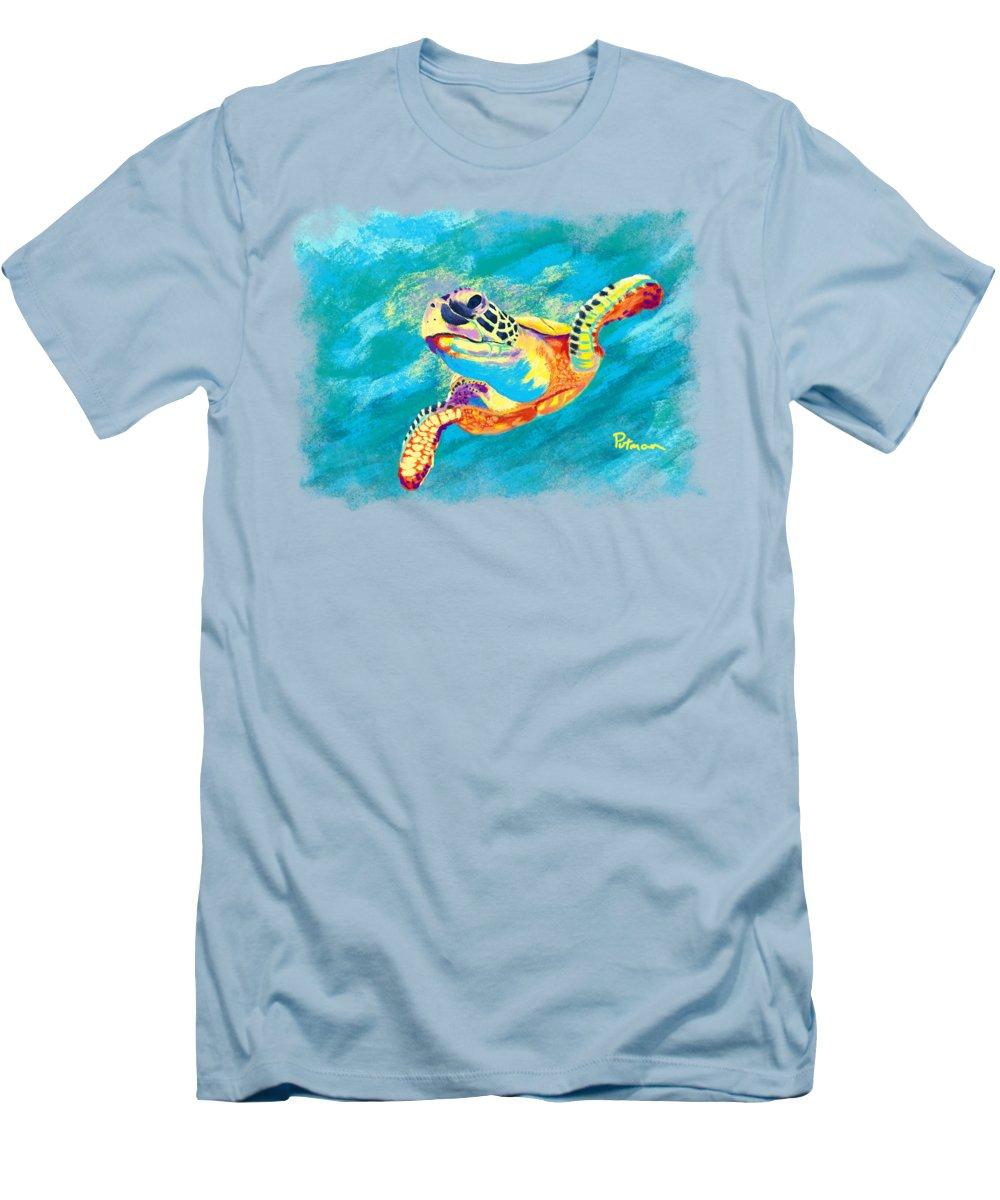Turtle Slim Fit T-Shirts