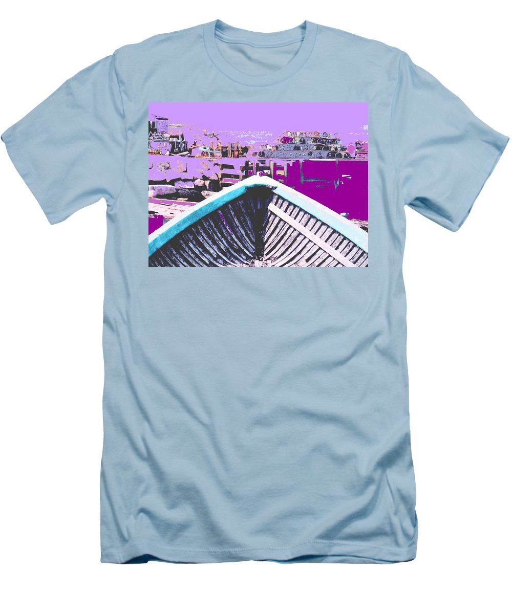 Nova Scotia Men's T-Shirt (Athletic Fit) featuring the photograph Strange Voyage by Ian MacDonald