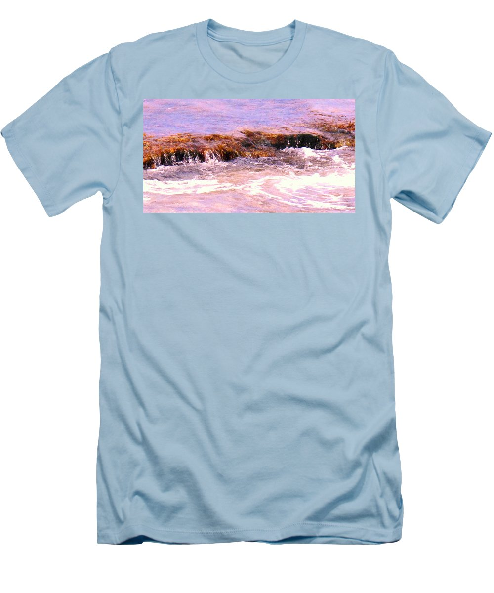 Tide Men's T-Shirt (Athletic Fit) featuring the photograph Tidal Pool by Ian MacDonald