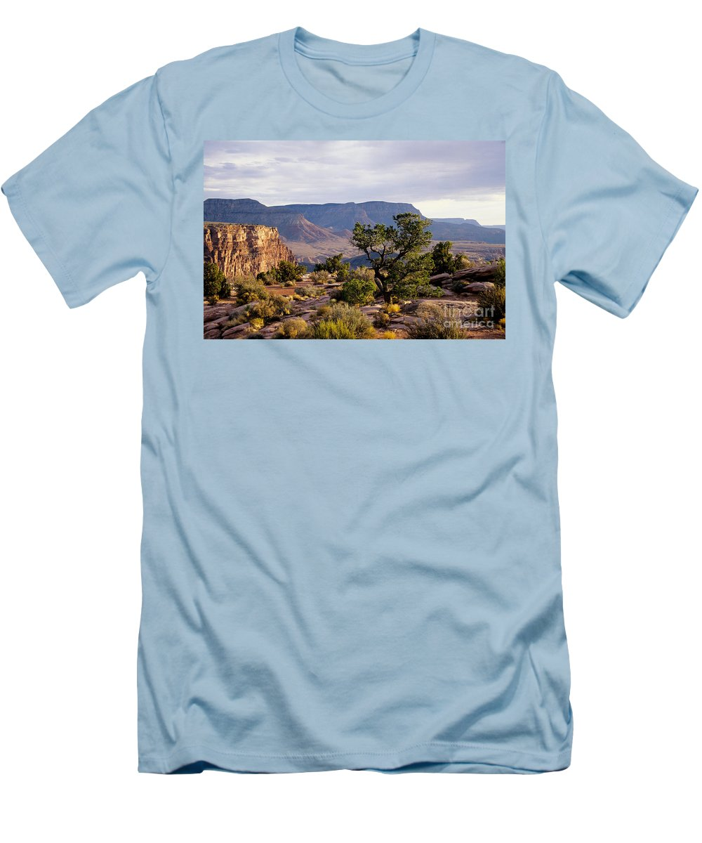 Arizona Men's T-Shirt (Athletic Fit) featuring the photograph Toroweap by Kathy McClure